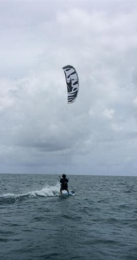 learning to kite board while actively suffering from CRPS, 2014
