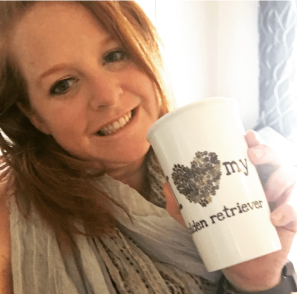 The Invisible Warrior drinking tea on a day of high CRPS pain