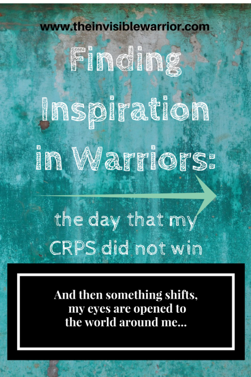 Finding inspiration and hope on a bad day with CRPS