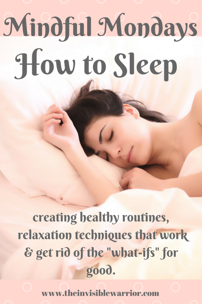 Mindful Mondays: How to sleep